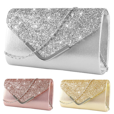 Womens' Stunning Bling Clutches Assorted Colors Free Shipping