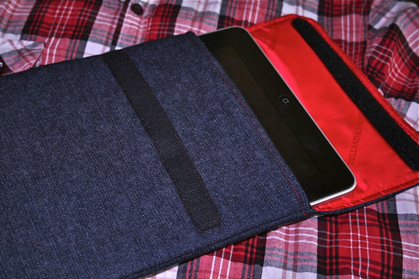 iPad - Denim + Flap