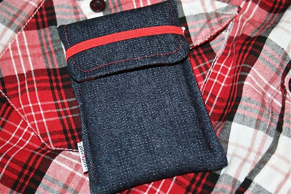 iPhone - Denim + Flap