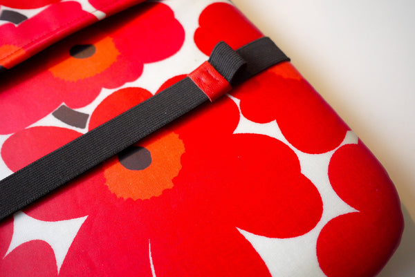 iPad Bandolier - Red Leather