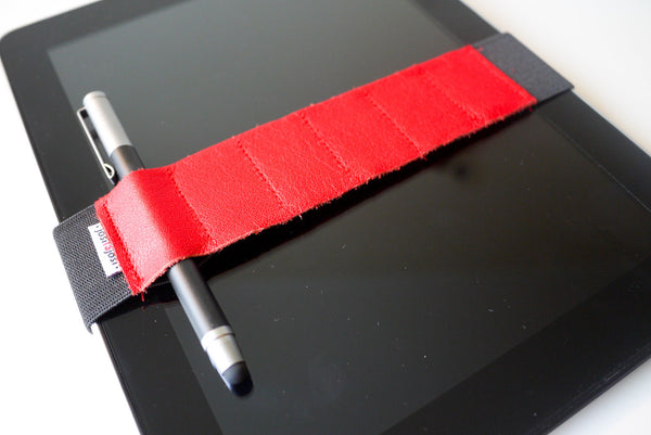 Adjustable Bandolier - Red Leather