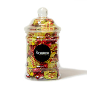 Brazil Nut Toffees Mini Victorian Sweet Jar