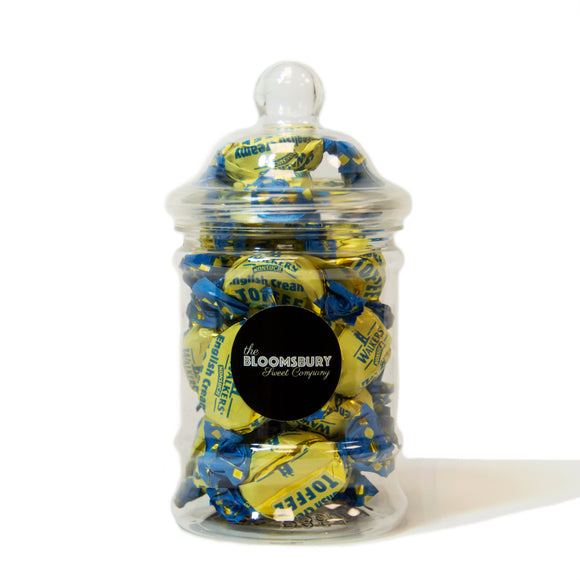 English Cream Toffees Mini Victorian Sweet Jar