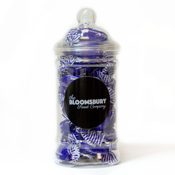 Blackcurrant & Liquorice Small Victorian Sweet Jar