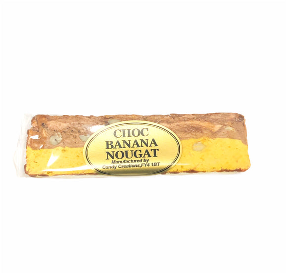 Chocolate & Banana Nougat Bar