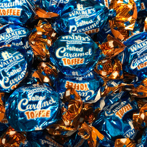 Salted Caramel Toffees
