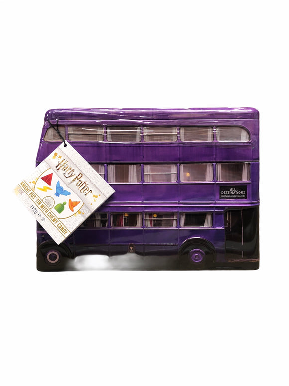 Harry Potter Knight Bus Gift Tin (110g Jelly Sweets)