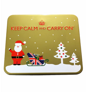 'Create Your Own' 'KEEP CALM' Gift Tin (Gold)