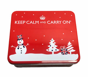 'Create Your Own' 'KEEP CALM' Gift Tin (Red)