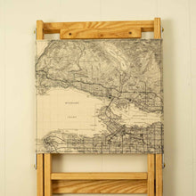 Load image into Gallery viewer, The Secret Spot Chair - Custom Map Print