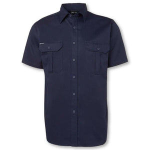 190gsm Cotton Short Sleeve Work Shirt - General Safety NZ Limited