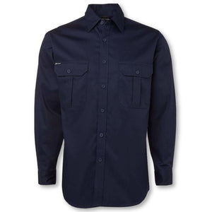 190gsm Long Sleeve Work Shirt - General Safety NZ Limited