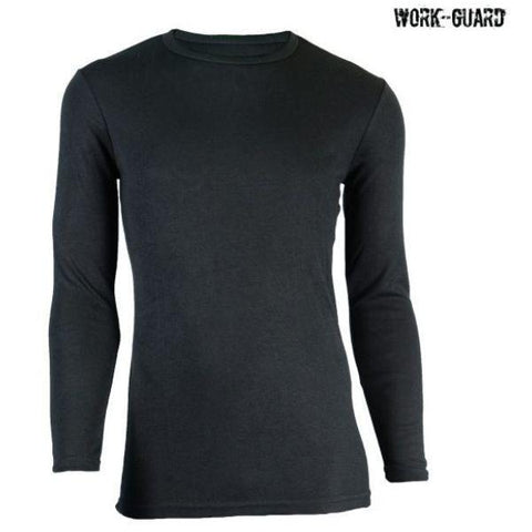 Image of Workguard Adult Long Sleeve Thermal Round Neck