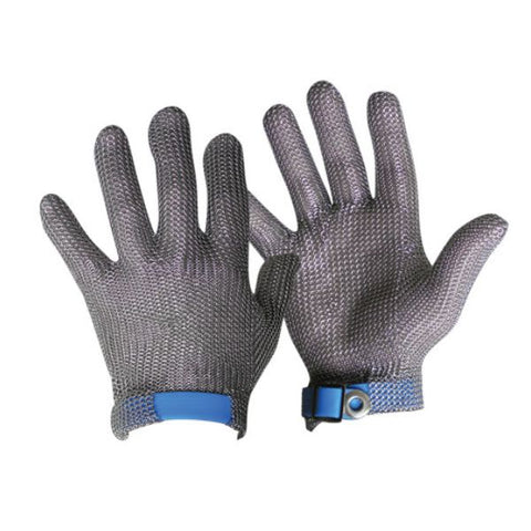 Chainmesh Glove With Strap