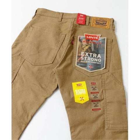 Image of Levi 505 Work Pants - Ermine Canvas