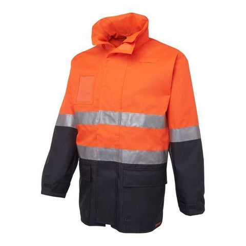 Image of Longline (D+H) Hi Vis Waterproof Jacket