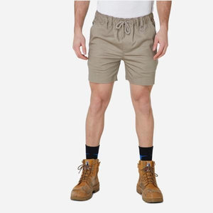 Men's Elastic Waist Basic Shorts with Draw String