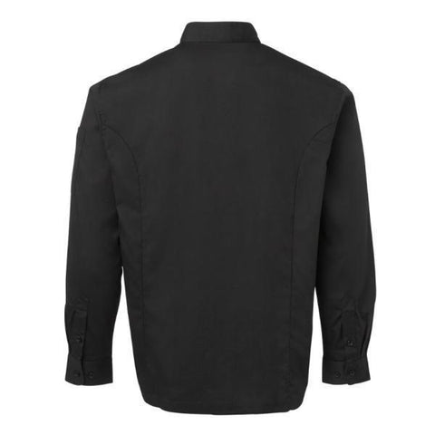 Image of Men's Long Sleeve Mandarin Collar Shirt