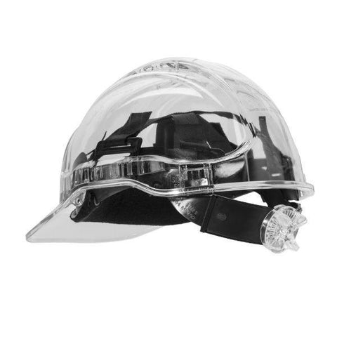 Image of GS Translucent Ratchet Hard Hat