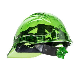 GS Translucent Ratchet Hard Hat