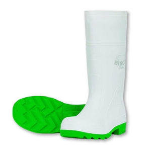 Bison PVC Nitrile Safety Food Gumboot - GREEN - General Safety NZ Limited