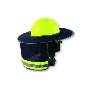 Full Brim Hard Hat Sun Shield and Neck Cover - General Safety NZ Limited
