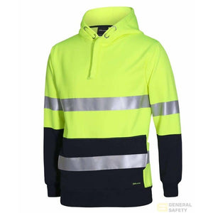 Hi Vis (D+N) Hoodie - Heavy Weight - General Safety NZ Limited