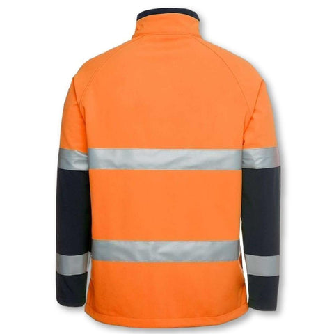 Image of Hi Vis (D+N) Softshell Jacket - General Safety NZ Limited