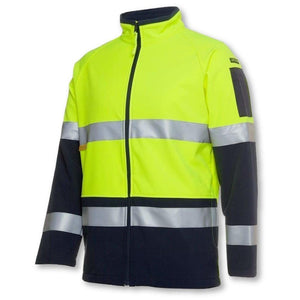 Hi Vis (D+N) Softshell Jacket - General Safety NZ Limited