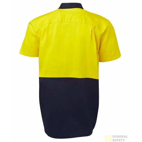 Image of Hi Vis S/S 150gsm Work Shirt - General Safety NZ Limited