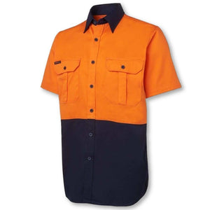 Hi Vis S/S 150gsm Work Shirt - General Safety NZ Limited