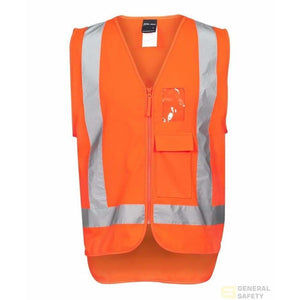 High Vis Zip (D+N) TTMC-W Vest - General Safety NZ Limited