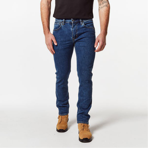 Image of Levi's 511 Slimfit Workwear Jean - Medium Stonewash