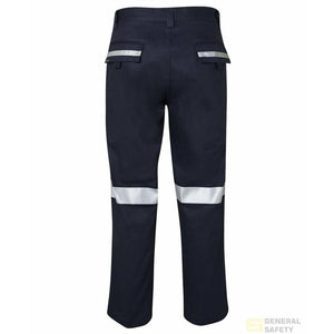 Men's Mercerised Work Trouser with 3M Tape - General Safety NZ Limited