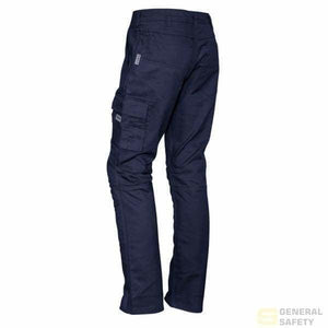 Mens Rugged Cooling Cargo Long Pants - Regular 72 / Navy Streetworx Pant