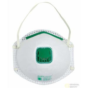 P2 Respirator with Valve - 12 Pack - General Safety NZ Limited