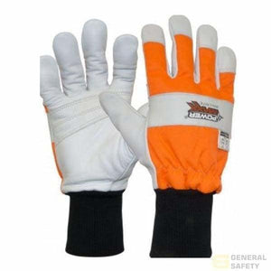 Powermaxx Ballistic Nylon Chainsaw Protection Glove 7S Gloves