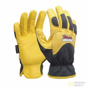 Powermaxx Premium Leather Riggers Glove 8M