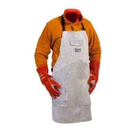 Premium Leather Welders Apron Large (90X60Cm) Welding Protection