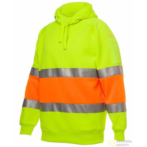 Image of Pullover Hoodie (D+N) with 3M Tape - General Safety NZ Limited