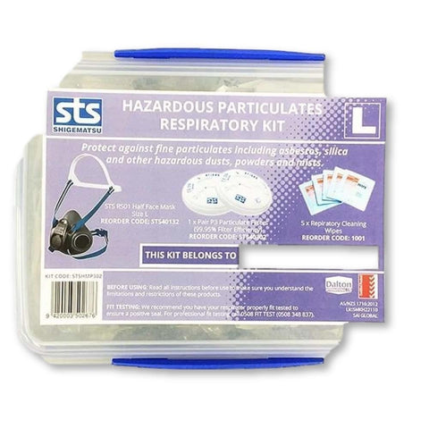 Image of Shigematsu Half Mask (RS01) - Haz Particulates Respiratory Kit - General Safety NZ Limited