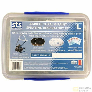 Shigematsu Half Mask (RS01) - Paint and Agri Respirator Kit - General Safety NZ Limited
