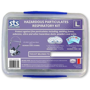 Shigematsu Half Mask (RX01) - Hazardous Particulates Respirator Kit - General Safety NZ Limited