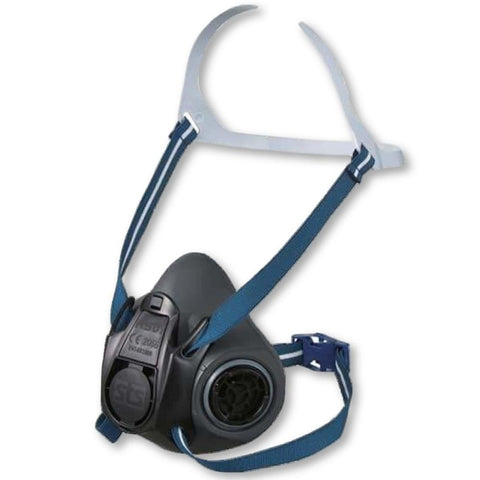 Image of Shigematsu RS01 Thermoplastic Half Mask Respirator - General Safety NZ Limited