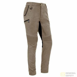 Streetworx Stretch Pant - Non Cuffed 72 / Khaki Long