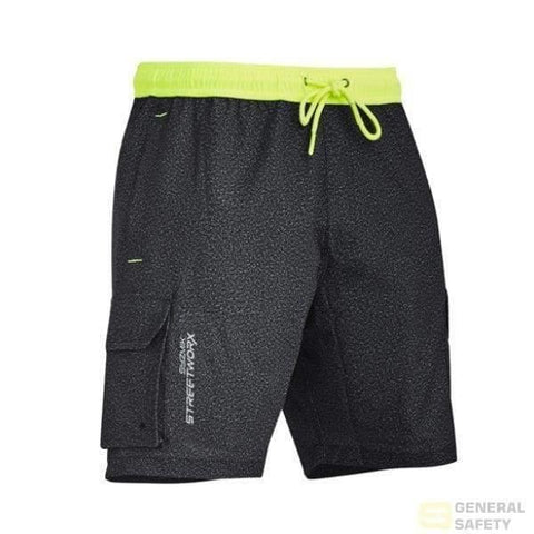 Image of Streetworx Stretch Work Board Shorts Xxs / Grey-Marle Short Pant