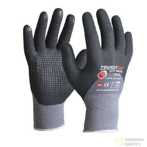 Touchline Glove Polyamide | Spandex Micro Nitrile Foam Full Coating Plus Pvc Micro Dots S Work