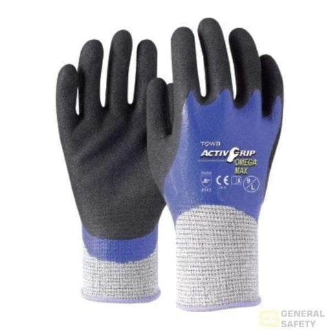 Image of Towa Activgrip Omega Max Cut 5 8M Resistant Gloves
