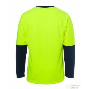 Traditional Long Sleeve Hi Vis Long Sleeve T-Shirt - General Safety NZ Limited