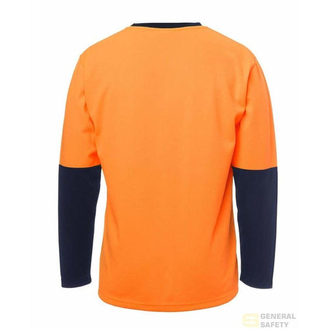 Image of Traditional Long Sleeve Hi Vis Long Sleeve T-Shirt - General Safety NZ Limited
